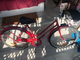 Bicicleta de paseo antigua