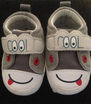 Zapatos bebé divertidos Talla 17