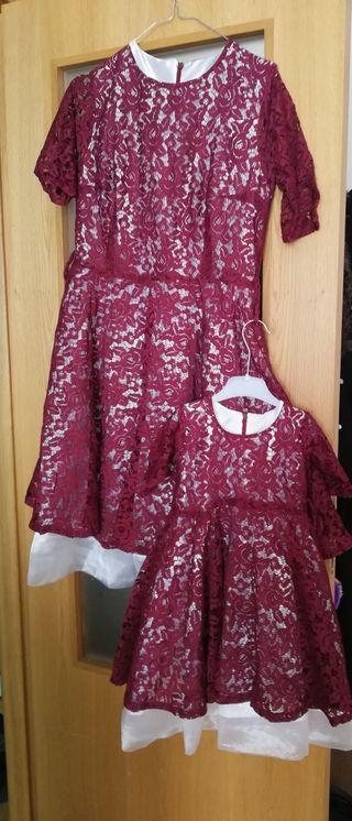 vestidos nuevos iguales Madre e hija