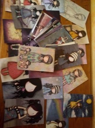 lote de 55 postales de gorjuss
