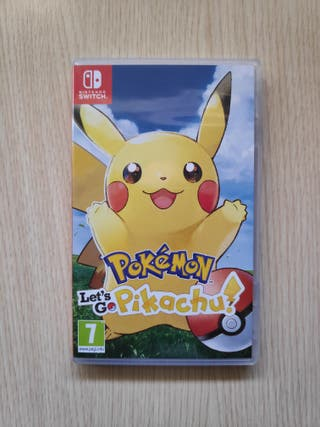 Pokémon Let's Go: Pikachu (Switch)