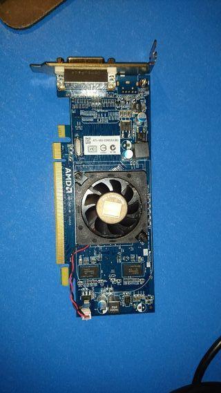 tarjeta gráfica AMD ati radeon ram 512mb