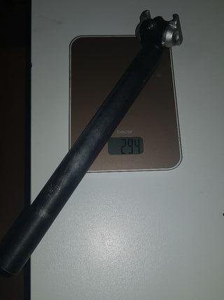 Tija sillín 31,6mm 350mm