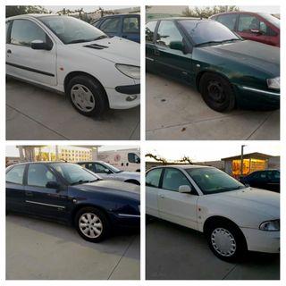 LOTE: Audi A4+Peugeot 206+Citroen Xantia+Citroen