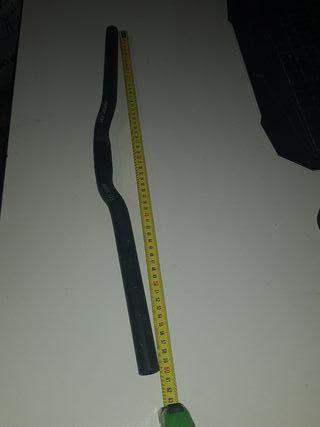 Manillar MTB 25mm 60cm