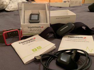 Pulsómetro Tom Tom runner con cinta cardio