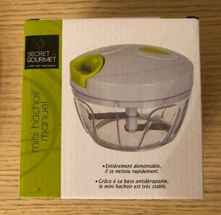 Secret Gourmet. Mini hachoir manuel / Picadora