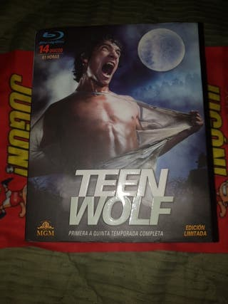 Teen wolf Temporada 1- 5 Blu-ray