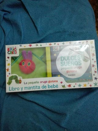 Libro pequeña oruga glotona Nuevo