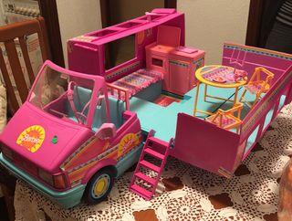 Caravana Barbie años 80