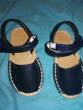 Menorquinas, sandalias