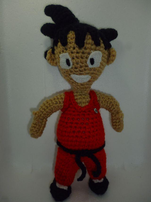 Goku from Dragon Ball-Z amigurumi - CROCHET | 853x640