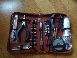 Maletín cuero herramientas