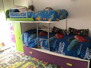 Habitación niño 3 camas en 1