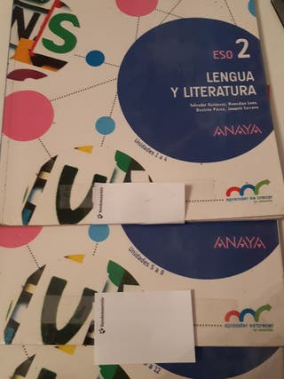 Eso 2 Lengua y Literatura