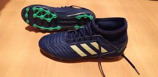 botas de fútbol adidas predator AG talla 37 1/3