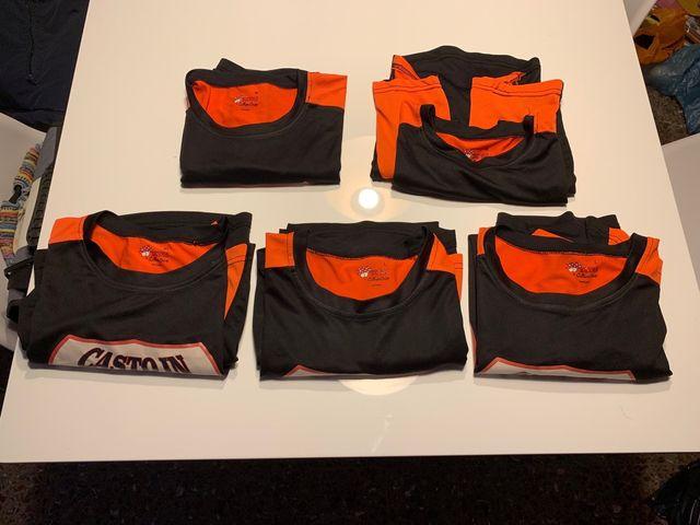 Pack de cinco camisetas de tirantes