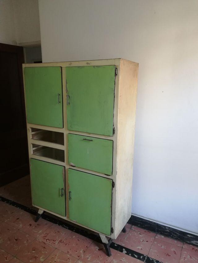Mueble alacena cocina completo. Vintage. de segunda mano por 60 € en ...