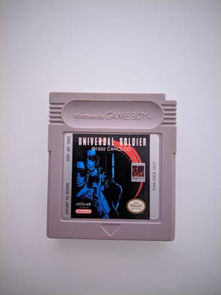 UNIVERSAL SOLDIERS GAME BOY