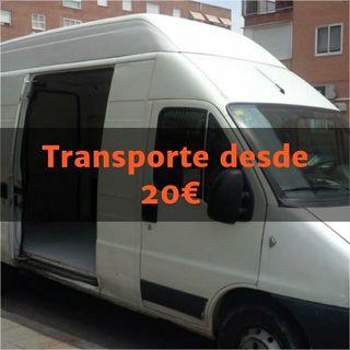 transportes desde 20€
