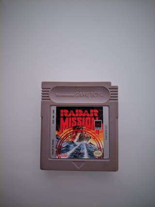 RADAR MISSION GAME BOY