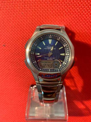 Reloj Casio analógico digital cbro mod-AG-180W