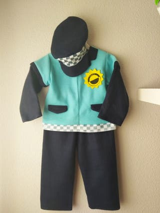 Disfraz policía 6-12 meses