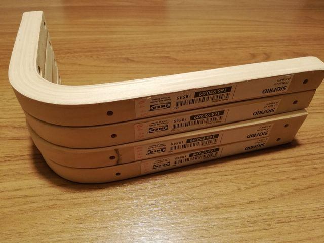 Escuadras de madera NUEVAS 2ud