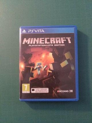 Cambio Minecraft PlayStation Vita