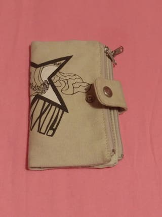 Cartera monedero beige de Roxy