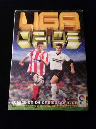 Album cromos liga 2002-2003