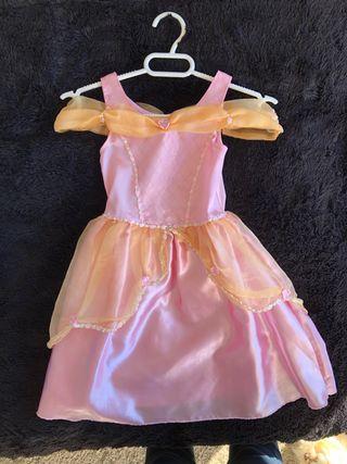 Disfraz de Princesa Talla 2-4 años