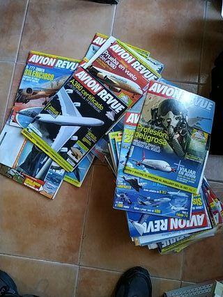 coleccion avion revue revistas