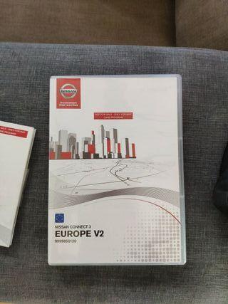 Mapas Nissan 2017 Europa original