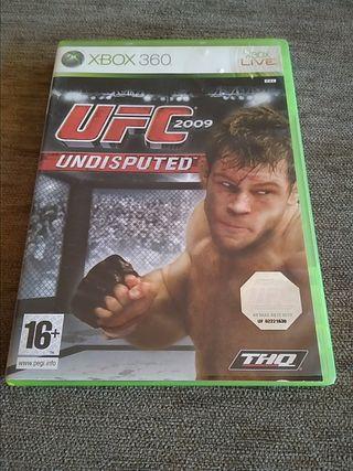 Juego UFC 2009 Undisputed para Xbox 360