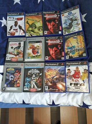 Juegos PS2 OFERTA a 4€
