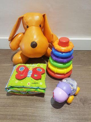 pack juguetes bebe