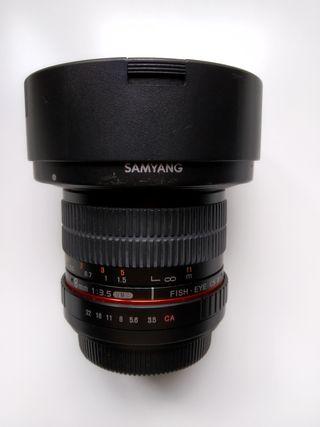 Objetivo Samyang 8mm f3.5 CSII EF-S (Canon)