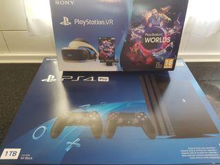 Pack PS4 Pro 2 mandos + PlayStation VR V2