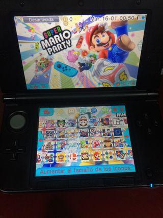Vendo Nintendo 3DS XL + 37 juegos