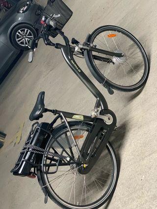 Bicicleta de paseo eléctrica