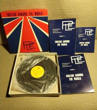 Libros y discos vinilo English Around the world