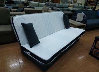 Sofá cama viscoelastico con arcon