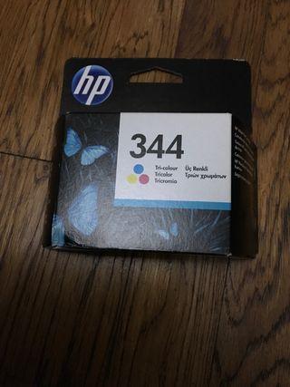 Cartucho original HP 344 tricolor caducado
