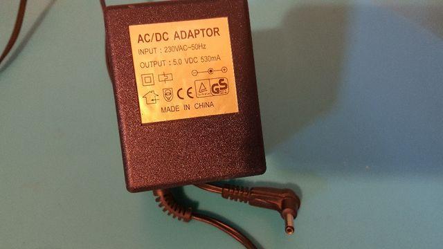 transformador 5v 350mA DC