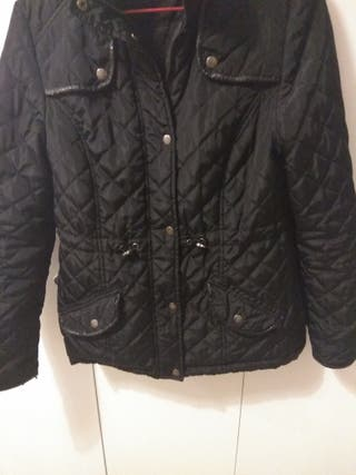 Black padded jacket size 8