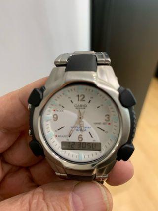 Reloj Casio Analógico digital modelo EFA -101