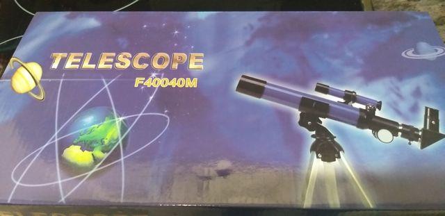 telescopio con precinto