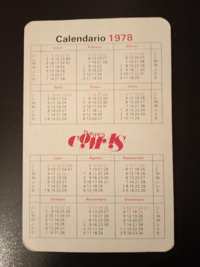 Calendario 1978.Calendario 1978 De Segunda Mano Por 5 En Zaragoza En Wallapop