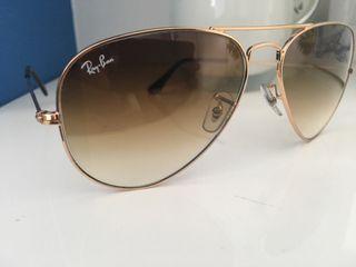 Gafas de sol RAYBAN AVIADOR original nueva 65%